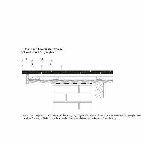 Prodotto disegno tecnico KLASSIK OBL Ortgangausbildung-mit-Biberschwanzziegeln-1-1-2-Ortgangbrett