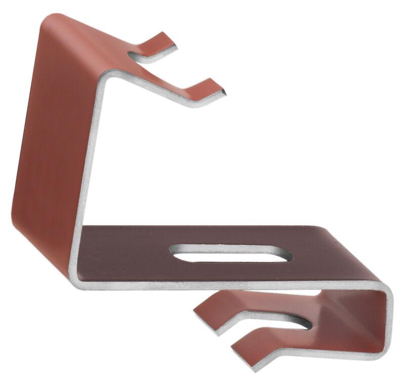 Graffa di colmo alluminio PV