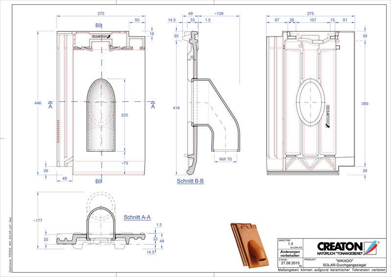 Prodotto file CAD MIKADO Solar SOLAR
