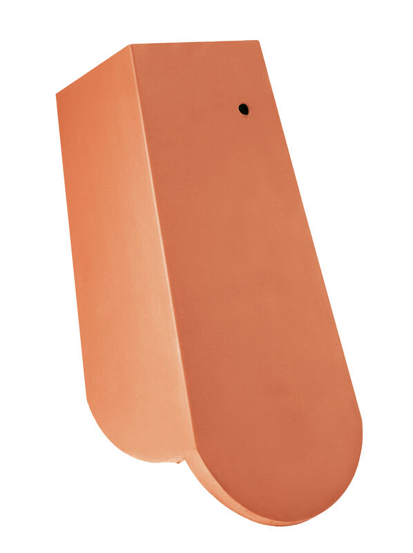 KLASSIK Taglio tondo Tegola laterale 3/4 a destra con linguetta laterale lunga ca. 11 cm