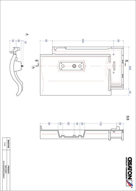 Prodotto file CAD MELODIE Alluminio base GRUNDALU
