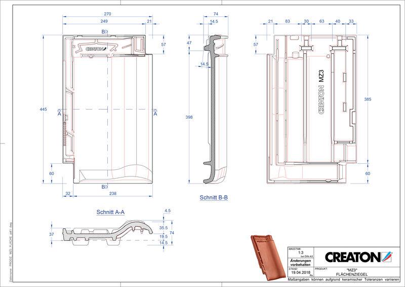 Prodotto file CAD MZ3 NEU Superficie FLA