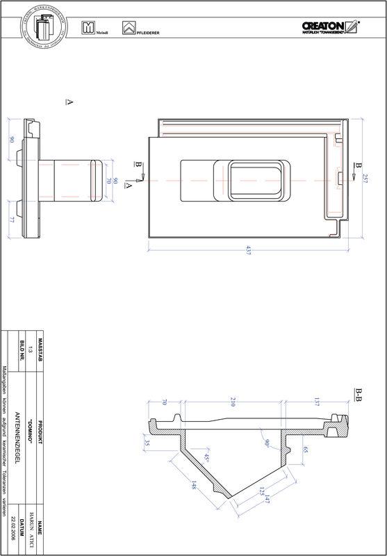 Prodotto file CAD DOMINO Antenna ANTENNE