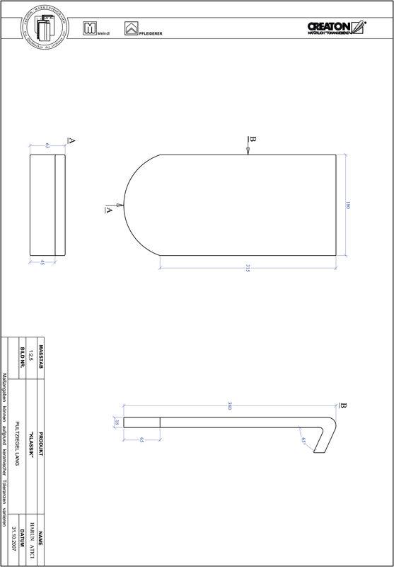 Prodotto file CAD KLASSIK Taglio tondo RUND-PULT-lang1