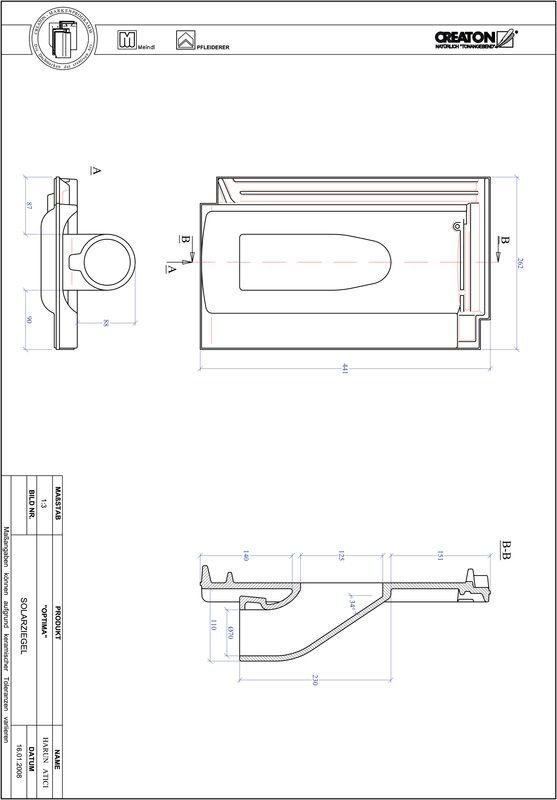 Prodotto file CAD TERRA OPTIMA Solar SOLAR