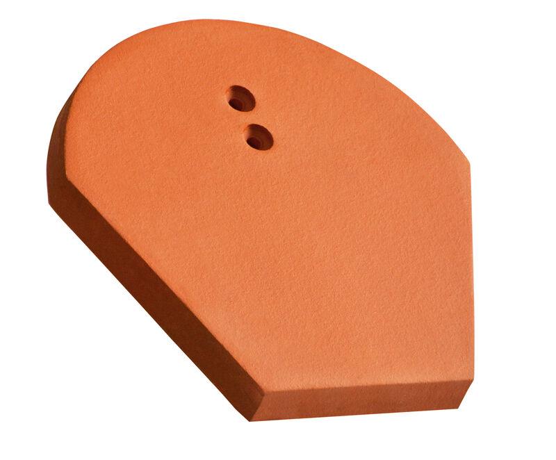 ROG Piastra di colmo iniziale e finale in ceramica BM