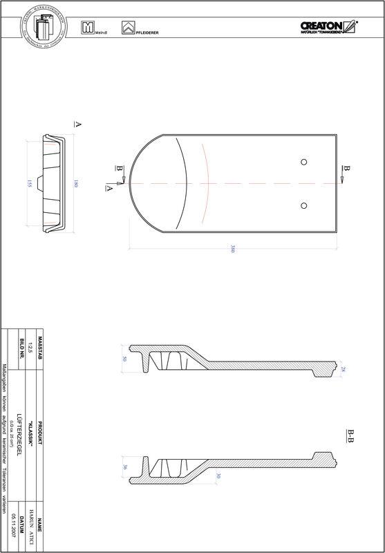 Prodotto file CAD KLASSIK Taglio tondo RUND-LUEFTZ