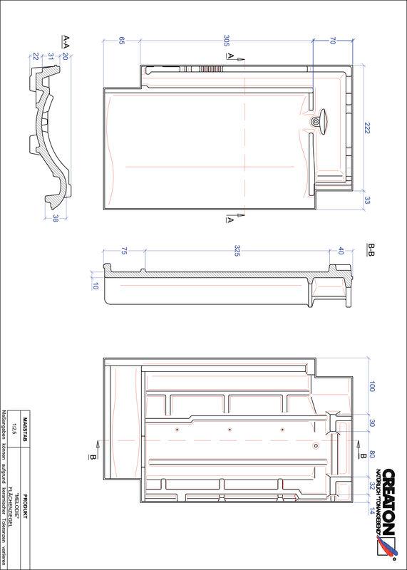 Prodotto file CAD MELODIE Superficie FLA