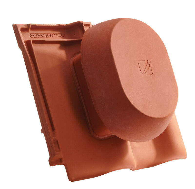 PRE SIGNUM scarico della condensa in ceramica DN 200 mm, incl. adattatore collegamento sottotetto