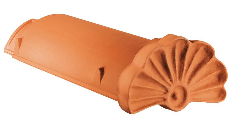WER Colmo iniziale in ceramica a forma di conchiglia PZ