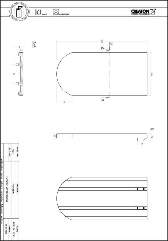 Prodotto file CAD KLASSIK Taglio tondo RUND-FLUEFTZ
