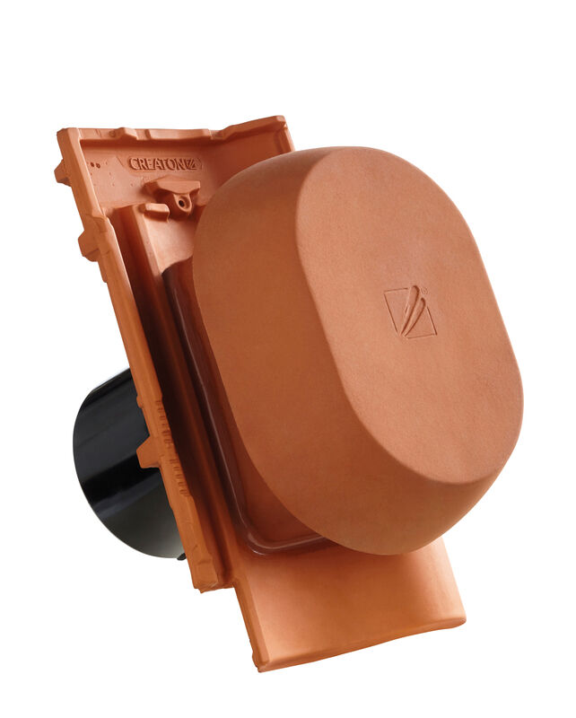 MEL SIGNUM scarico della condensa in ceramica DN 150/160 mm, incl. adattatore collegamento sottotetto