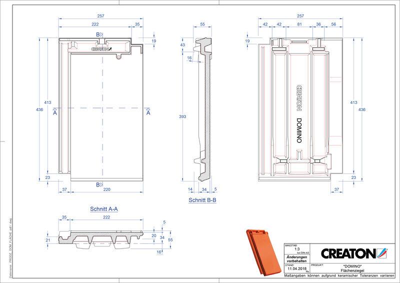 Prodotto file CAD DOMINO Superficie FLA