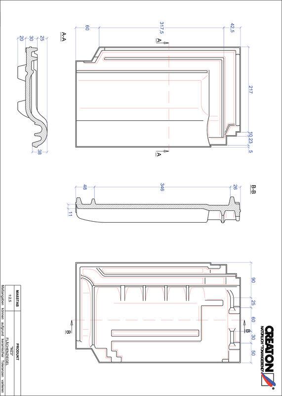 Prodotto file CAD MZ3 Superficie FLA