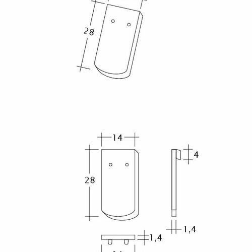 Prodotto disegno tecnico MANUFAKTUR TUBI-1-1
