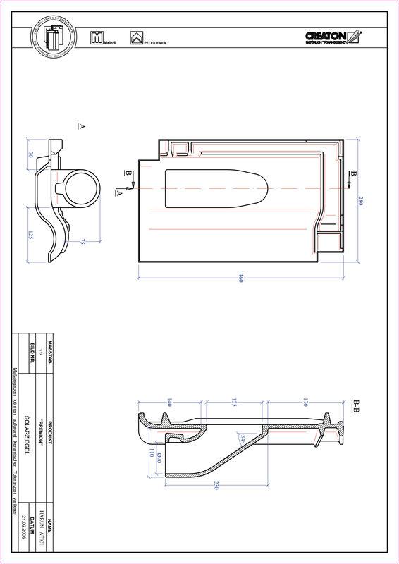 Prodotto file CAD PREMION Solar SOLAR