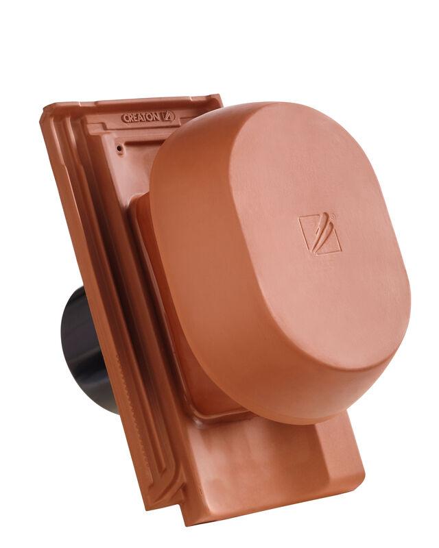 OPT SIGNUM scarico della condensa in ceramica DN 150/160 mm, incl. adattatore collegamento sottotetto