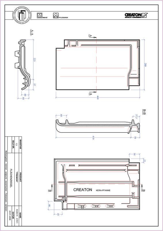 Prodotto file CAD PREMION Superficie FLA