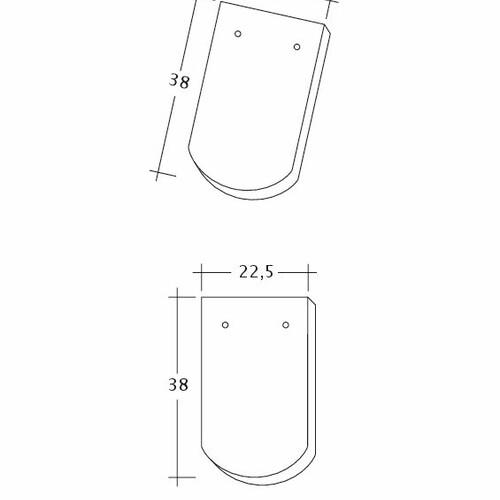 Prodotto disegno tecnico KLASSIK 1-1-4