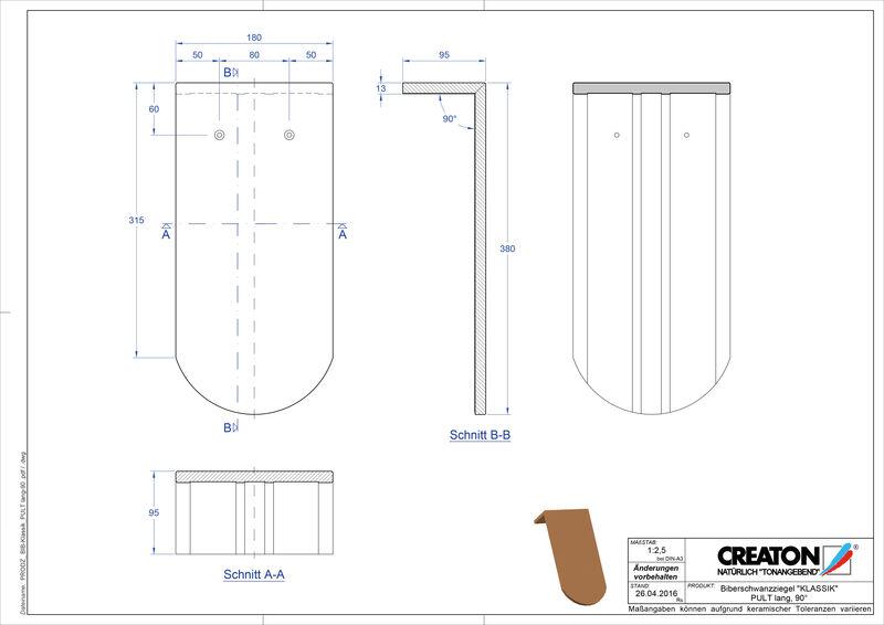Prodotto file CAD KLASSIK Taglio tondo RUND-PULT-lang