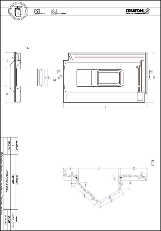 Prodotto file CAD TERRA OPTIMA Antenna ANTENNE