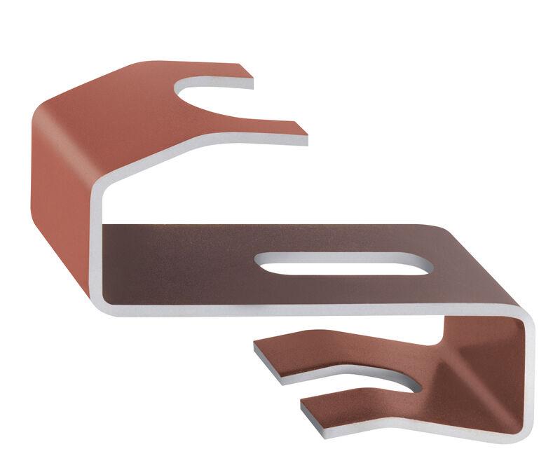 Graffa di colmo alluminio PI