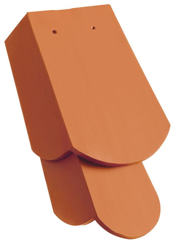 KLASSIK Taglio tondo Tegola laterale 1 1/4 a destra con linguetta laterale lunga ca. 11 cm