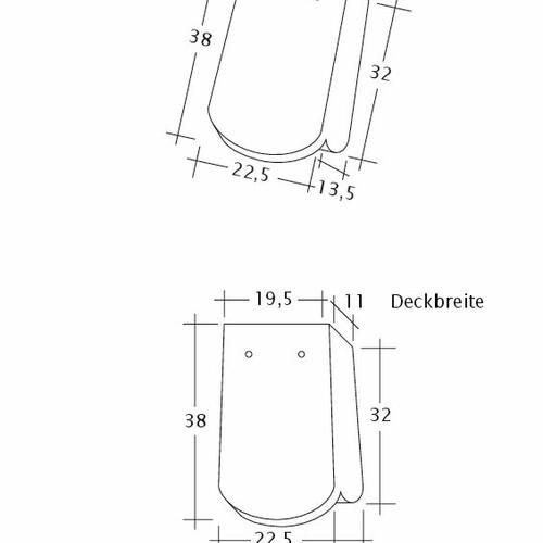 Prodotto disegno tecnico KLASSIK OG-1-1-4