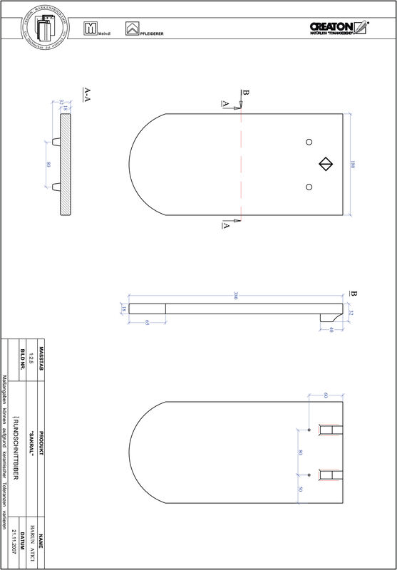 Prodotto file CAD SAKRAL Taglio tondo RUND-1-1