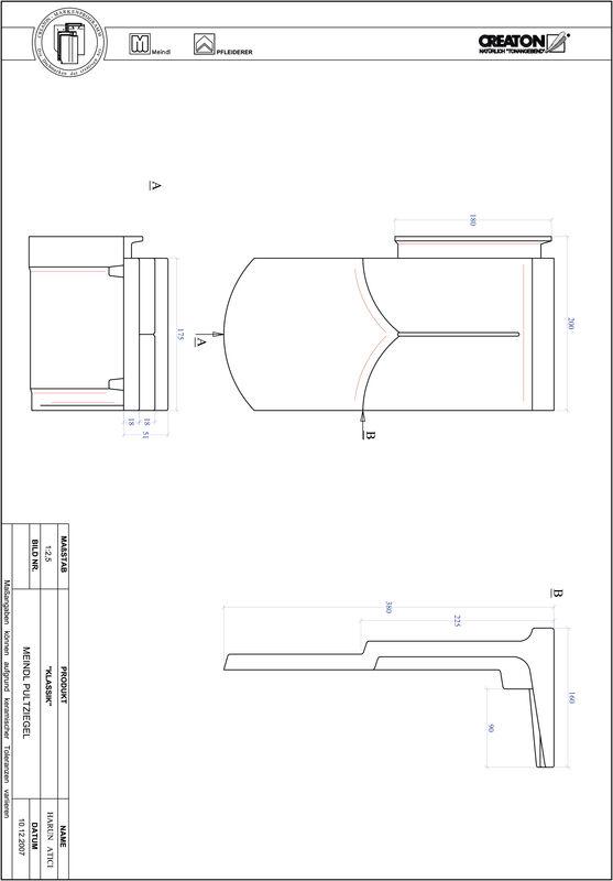Prodotto file CAD KLASSIK Taglio tondo RUND-PULT