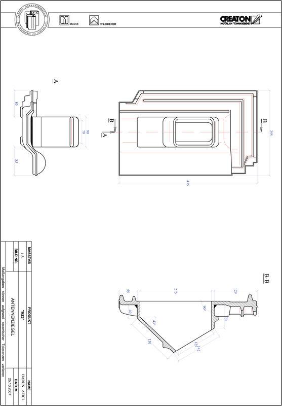 Prodotto file CAD MZ3 Antenna ANTENNE