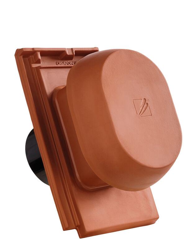 DOM SIGNUM scarico della condensa in ceramica DN 150/160 mm, incl. adattatore collegamento sottotetto