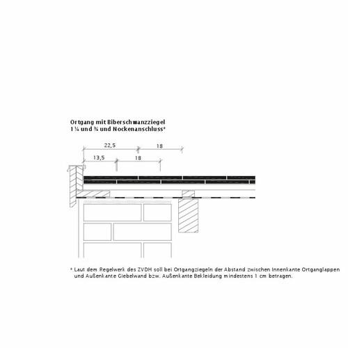 Prodotto disegno tecnico KLASSIK OG-Ausbildung-Biber-3-4-1-4-Nockenanschluss