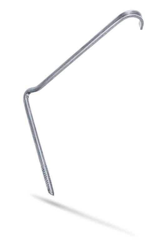 Graffa antitempesta zinco-alluminio grappa di fissaggio, listello universale (MAG, BAL, FUT, PRE)