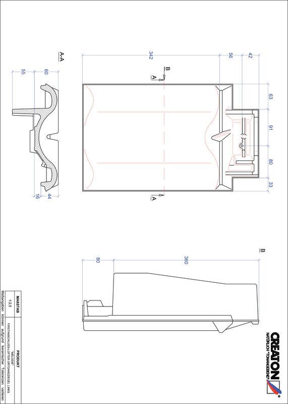 Prodotto file CAD MELODIE Esalatore raccordo colmo gronda di frontespizio sinistra FALOGL