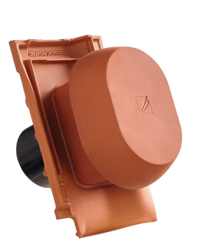 PRE SIGNUM scarico della condensa in ceramica DN 150/160 mm, incl. adattatore collegamento sottotetto