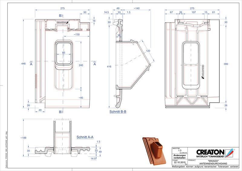 Prodotto file CAD MIKADO Antenna ANTENNE