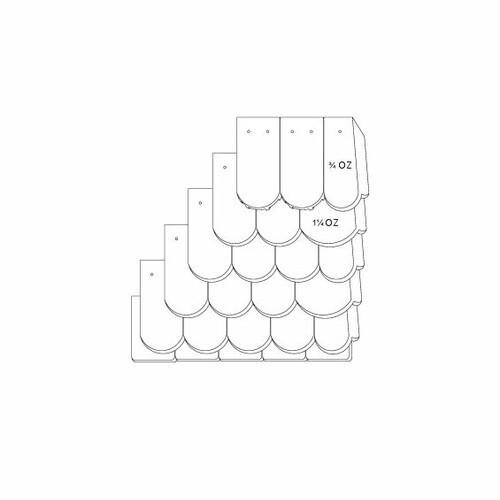 Prodotto disegno tecnico KLASSIK OGAusbildung-Doppeldeckung-mit-OG-3-4-1-1-4-Traufziegel