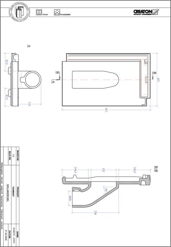 Prodotto file CAD DOMINO Solar SOLAR