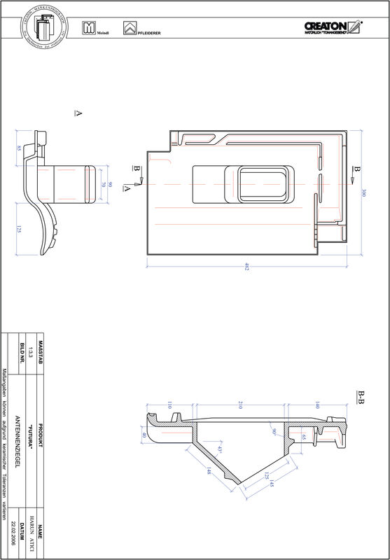 Prodotto file CAD ETRUSKO Antenna ANTENNE