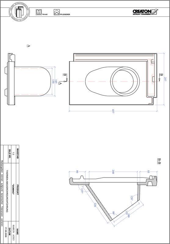 Prodotto file CAD DOMINO Therme THERME